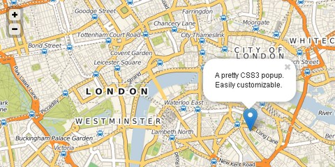 Lightweight Interative Maps for Mobile Web Browsers