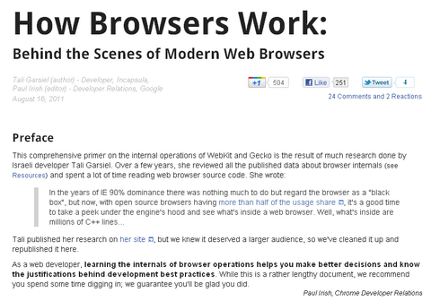 Behind the Scenes of Modern Web Browsers