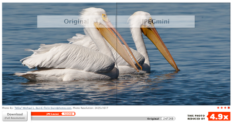 Reduce the File Size of JPEG Photos by Up to 5x
