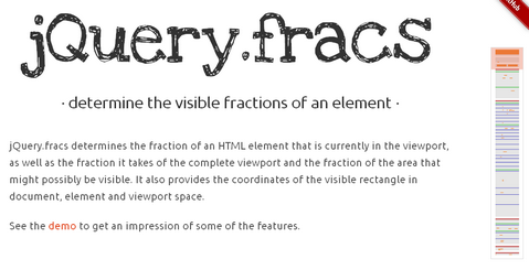 Jump to Different Sections in Viewport with jQuery.fracs