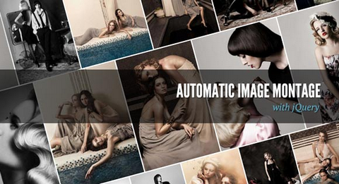 How to Create Automatic Image Montage with jQuery