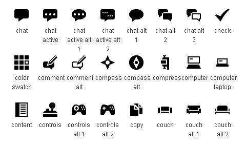 default-icons