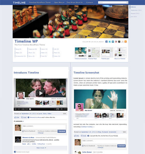 timeline-facebook-wordpress
