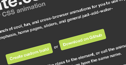 A Bunch of Cool CSS Animations with Animate.CSS
