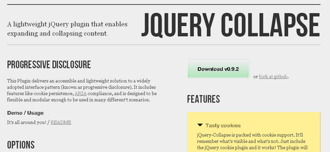 jquery-collapse