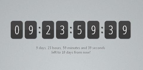 jquery-countdown