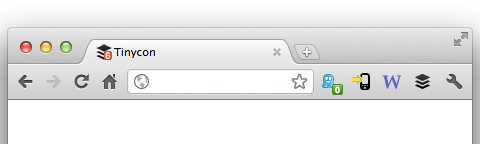 Adding Alert Bubbles for Favicon Image with Tinycon