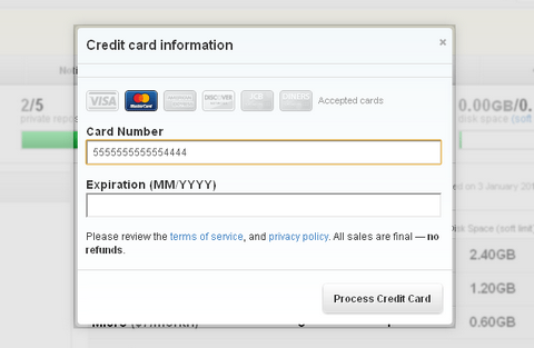 Auto Detecting Credit Card Type with JavaScript