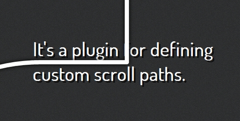 jquery-scroll-path