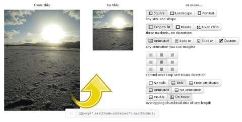 Create Thumbnails Easily with jQuery NailThumb Plugin