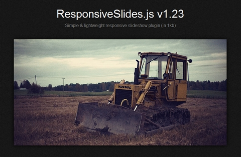 A Lightweight Responsive Slideshow jQuery Plugin