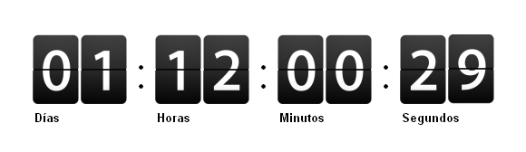 Pretty and Lightweight jQuery Countdown Plugin