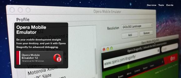 Opera Mobile Emulator for Mobile Application Developer | Web
