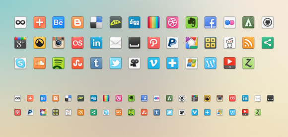41 Free Social Networking Icons in PNG Format
