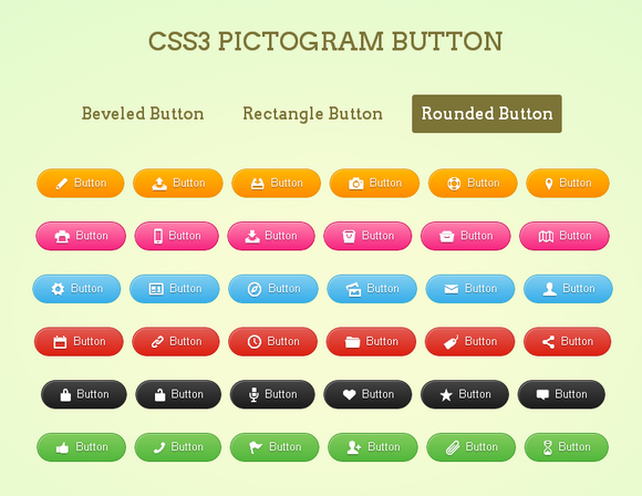 css-pictogram-buttons