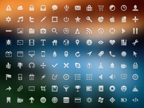 A Set of Beautiful Pictograms Free for Download