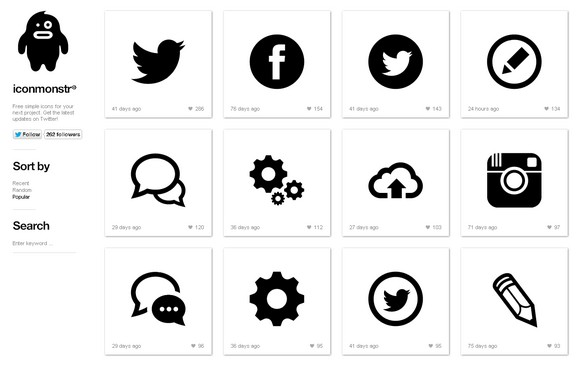 600+ Clean and Nicely Designed Vector Icons for Free