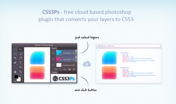 Convert Your Photoshop Layers into CSS3 Styles