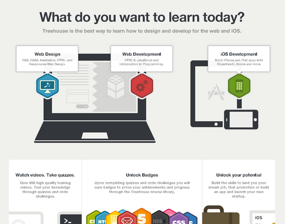 Giveaway 5x 3 Months Web Dev Training from Treehouse
