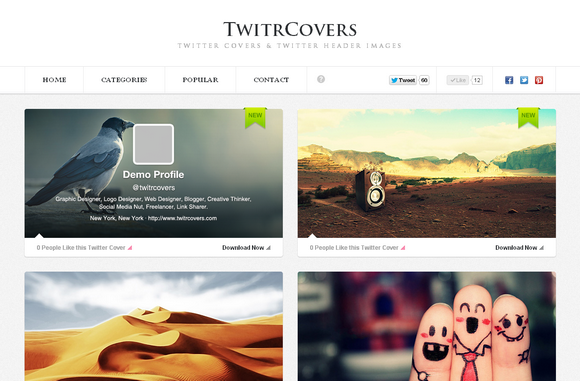 Users' New Twitter Profiles Now Includes Cover Image