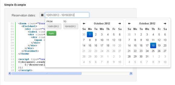 boostrap-date-range-picker