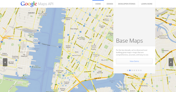 Showcase The Capabilities Features Of Google Maps Api Web