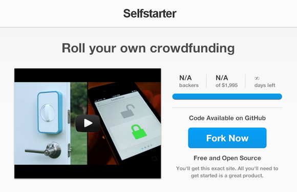 Build Your Own Crowdfunding Websites with Selfstarter