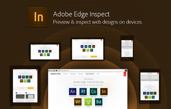 Preview & Inspect Web Designs with Adobe Edge Inspect