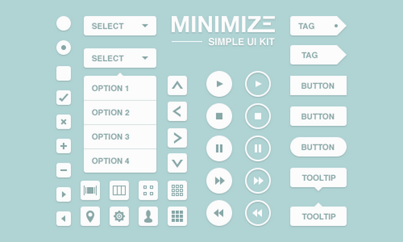 Minimize Simple UI Kit