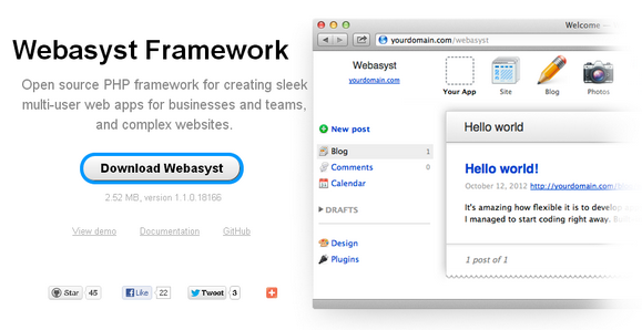Open Source Php Framework For Multi User Web Apps Web Resources Webappers