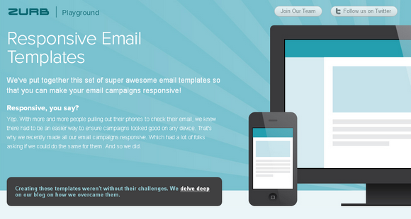 Handy Responsive Email Templates for Your Campaigns