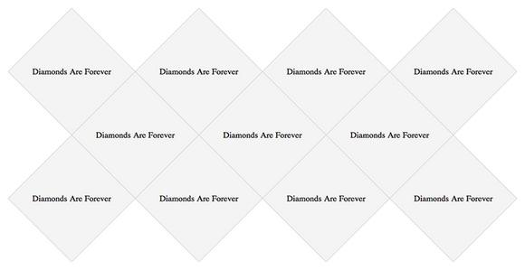 diamond-grid-layout