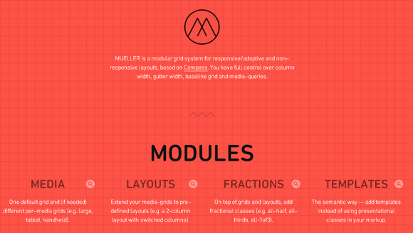 Mueller: A Modular Grid System for Responsive Layouts