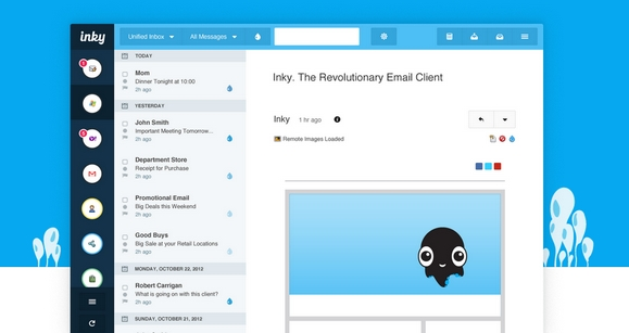 A Cloud-Enabled Desktop App for All Your Email