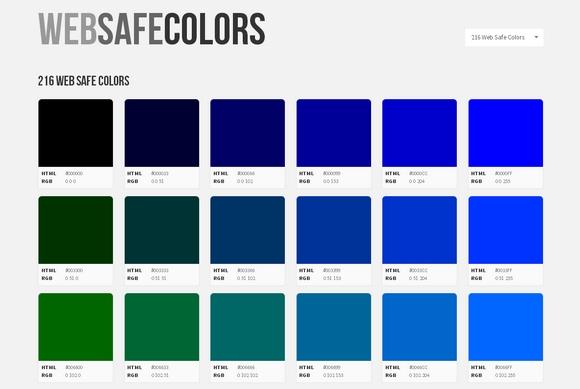 web-safe-colors