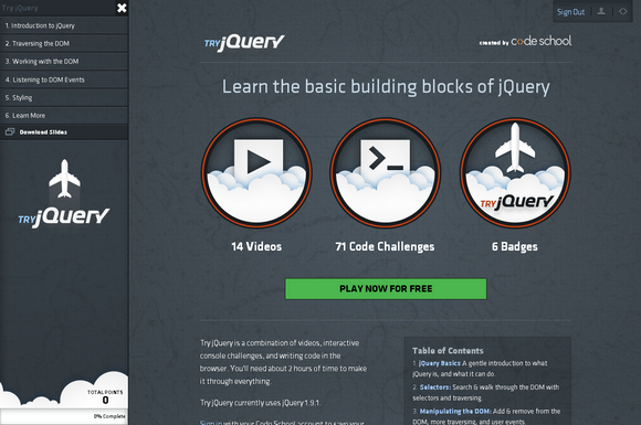 Interactive Challenges & Writing jQuery in the Browser