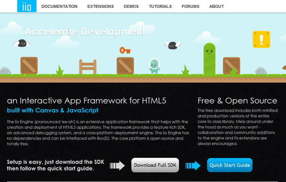 Open Source Interactive App Framework for HTML5 | Web Resources