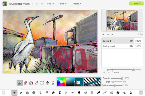 Embedding the HTML5 Drawing App with jQuery