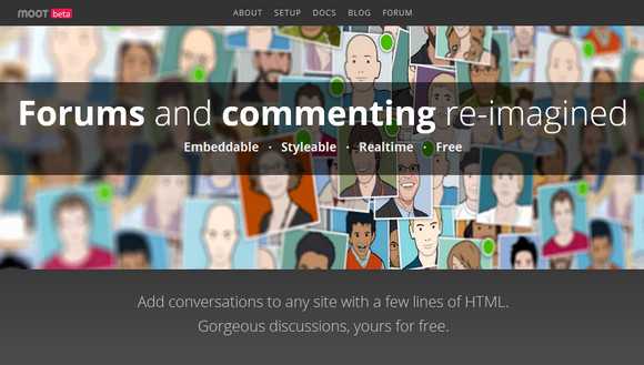 Add Conversations to Any Site with Moot Forums