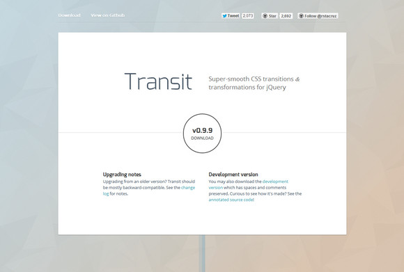 Super Smooth CSS Transitions for jQuery | Web Resources