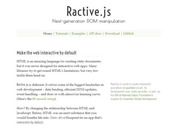 ractive-js