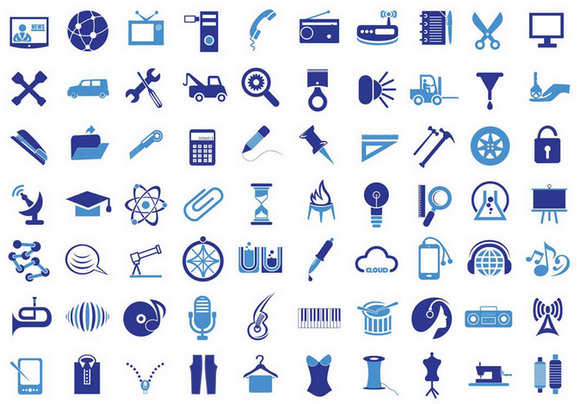 vector-icons-blue