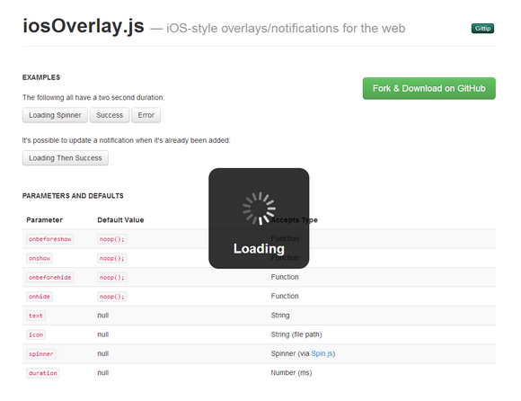 Create iOS Style Notifications with iosOverlay js | Web