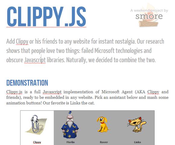 clippy-js