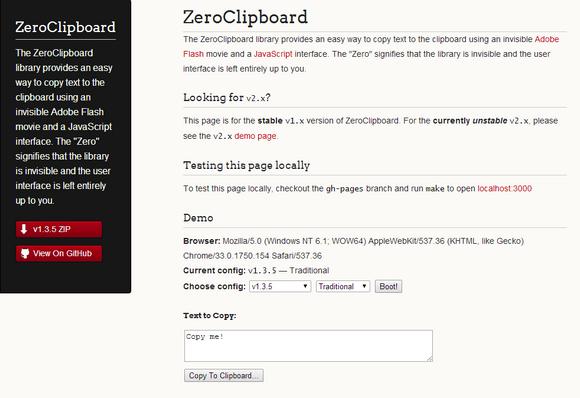 zero-clipboard