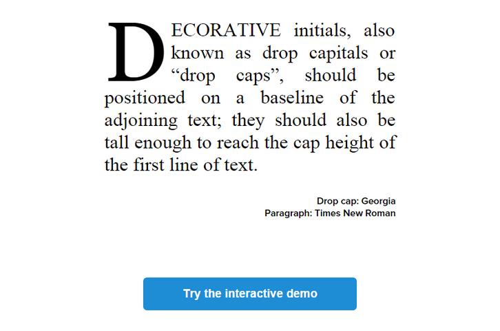 dropcap-javascript