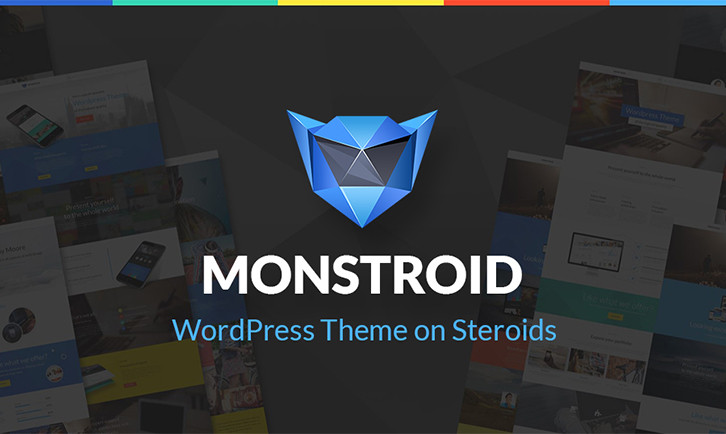 monstroid. wordpress theme on steroids