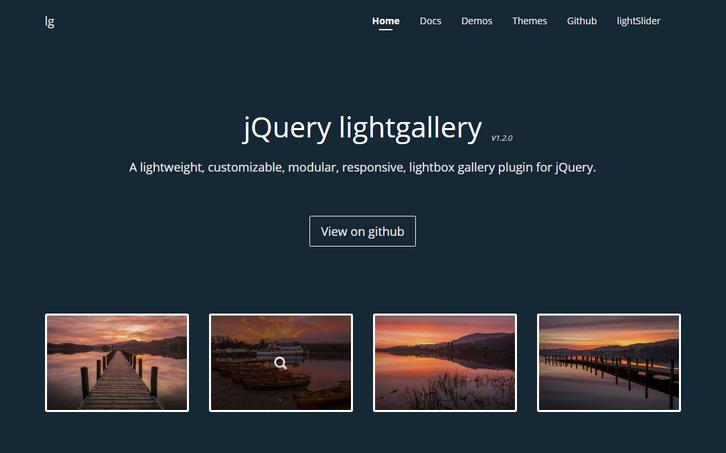 jquery-lightgallery