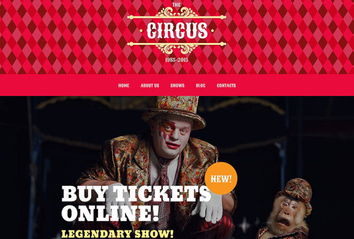 circus-tent-wordpress-theme