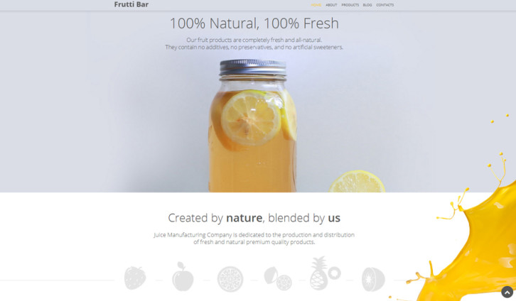 frutti-bar-wordpress-theme